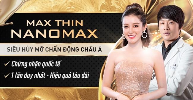 Max Thin Nanomax - công nghệ đánh tan mỡ bụng tốt nhất năm 2020