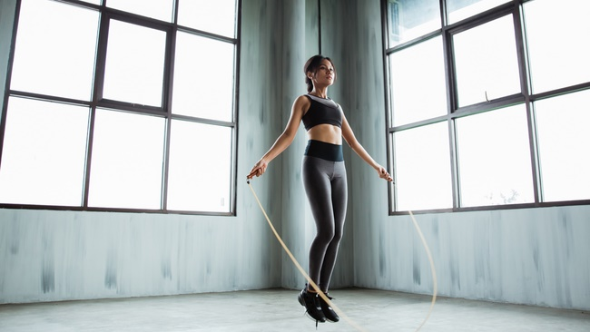 Mỗi phút nhảy dây có thể nhảy được khoảng 60 - 70 nhịp