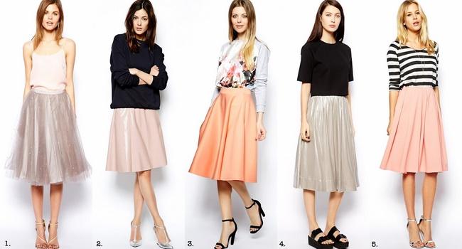 Nguyên tắc cần nhớ khi mix đồ với chân váy midi