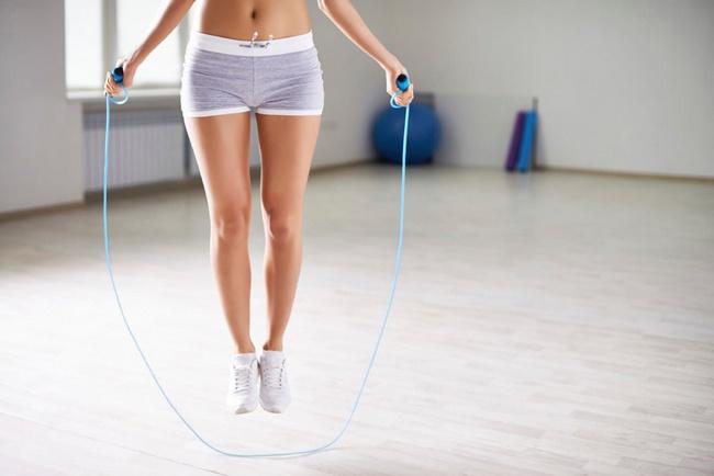 Nhảy dây nhiều không khiến cho bắp chân bị to ra