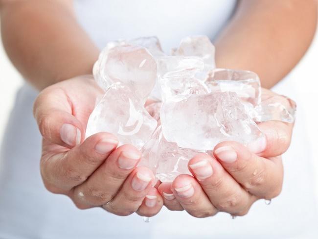 Nước đá lạnh có khả năng tăng cường trao đổi chất