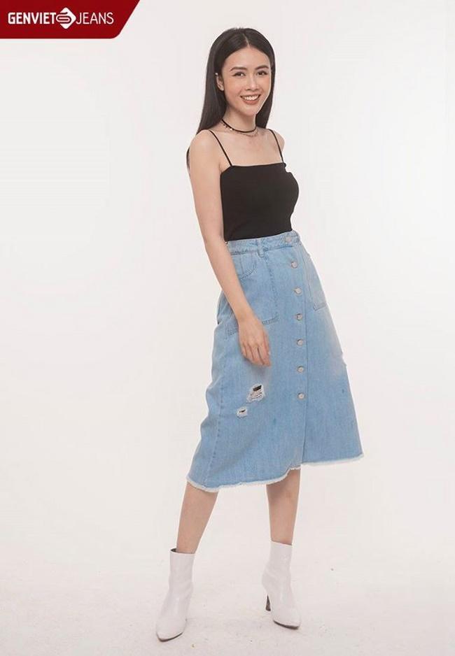 Shop Genviet Jeans - Địa chỉ bán chân váy Jean đẹp tại Hà Nội đa dạng với nhiều kiểu mẫu khác nhau