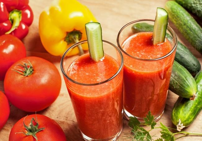 Sinh tố dứa cà chua giảm cân