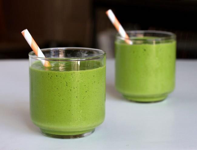 Sinh tố trà xanh matcha giảm cân