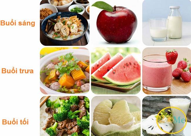 Chế độ ăn giảm mỡ bụng hiệu quả và an toàn cho 3 ngày