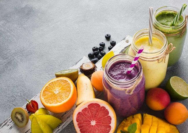 Uống nước detox vỏ bưởi để giảm cân