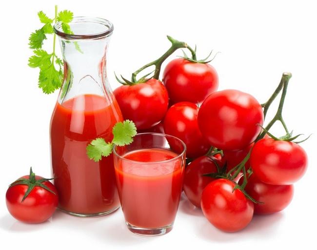 Uống nước ép cà chua giảm cân