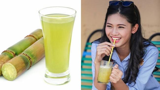 Uống nước mía rất tốt cho sức khỏe