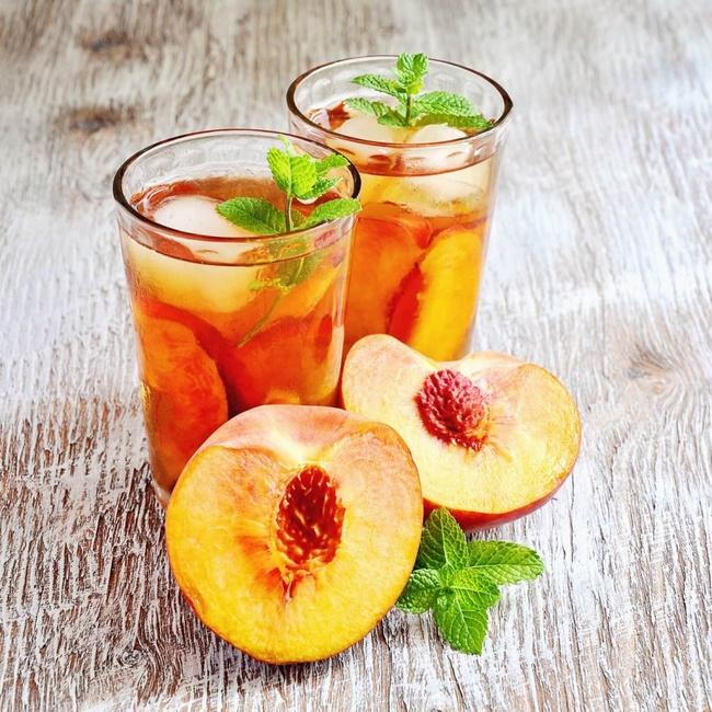 Uống sinh tố đào giảm cân
