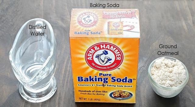 làm trắng da bằng baking soda