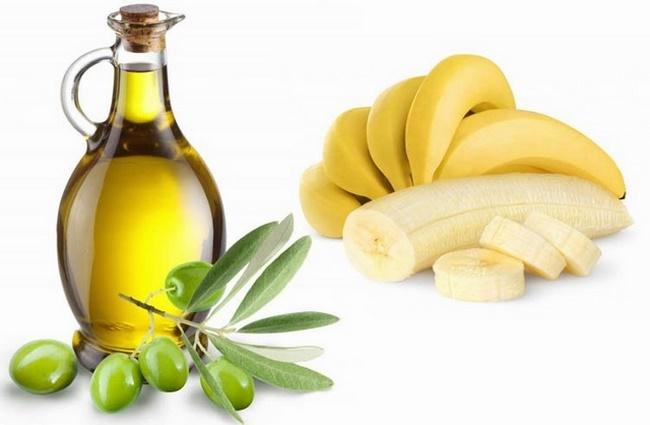 Trị nám với chuối và dầu oliu