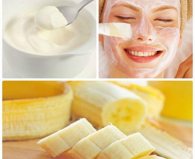 Học lỏm cách làm đẹp với mặt nạ chuối sữa chua tại nhà