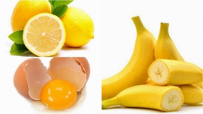 Chuối kết hợp với trứng gà trị nám hiệu quả
