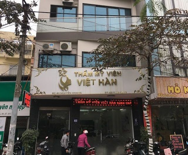 [REVIEW] Thẩm mỹ viện Việt Hàn 83 Nguyễn Khang uy tín hay không?