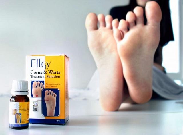 Thuốc trị mụn cóc Ellgy