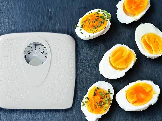 [HƯỚNG DẪN] Giảm cân bằng trứng gà luộc giảm ngay 11kg chuẩn không cần chỉnh