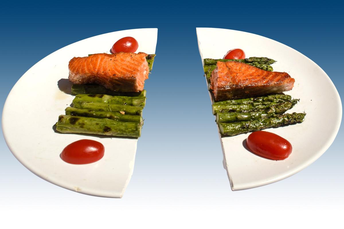 Có thể chia nhỏ bữa ăn ra để giúp quá trình giảm cân diễn ra thuận lợi hơn