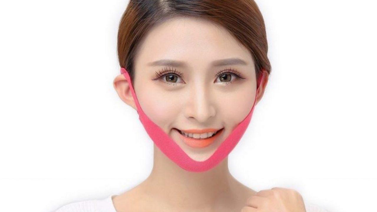 Dùng miếng dán tan mỡ mặt để sở hữu gương mặt thon gọn hơn