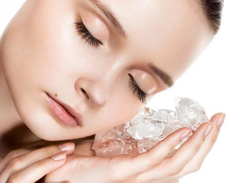 Lưu ý khi giảm béo mặt bằng đá lạnh