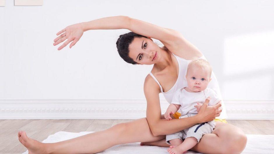 Top 10 bài tập giảm béo bụng sau sinh an toàn cho mẹ sớm lấy lại vóc dáng