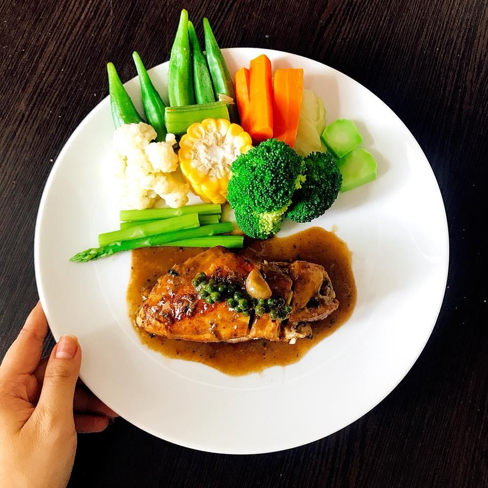 Thực đơn ăn kiêng giúp giảm béo mặt hiệu quả
