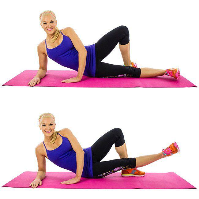 Bài tập Inner Thigh Lift giảm mỡ toàn thân hiệu quả